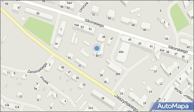 Kętrzyn, Daszyńskiego Ignacego, 30, mapa Kętrzyn