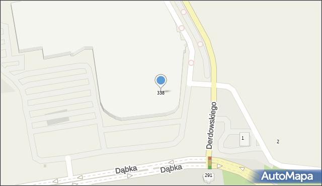 Pogórze, Dąbka Stanisława, płk., 338, mapa Pogórze