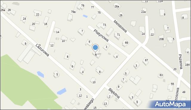 Żółtańce-Kolonia, Dąbrowskiego Józefa, ks., 6, mapa Żółtańce-Kolonia