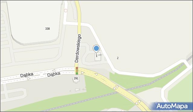 Pogórze, Derdowskiego Hieronima, 3, mapa Pogórze