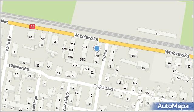 Bytom, Didura Adama, 2B, mapa Bytomia