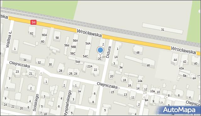 Bytom, Didura Adama, 4, mapa Bytomia