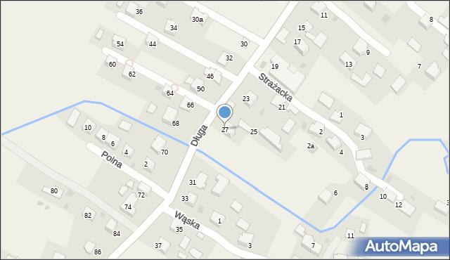 Przeciszów, Długa, 27, mapa Przeciszów