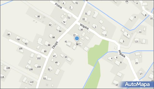 Przeciszów, Długa, 39, mapa Przeciszów