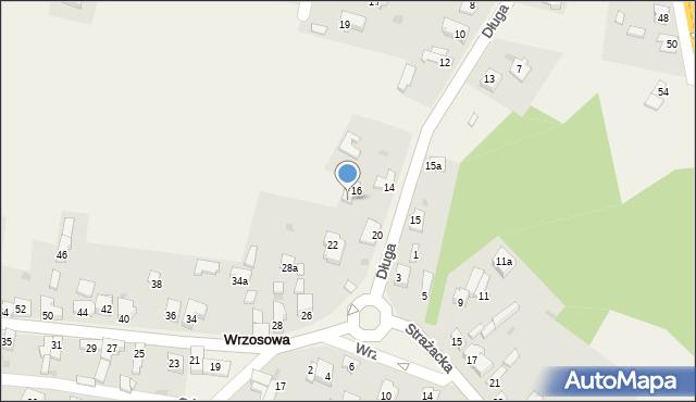 Wrzosowa, Długa, 18, mapa Wrzosowa