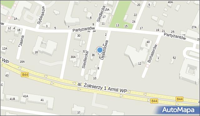 Chełm, Dojazdowa, 6, mapa Chełma