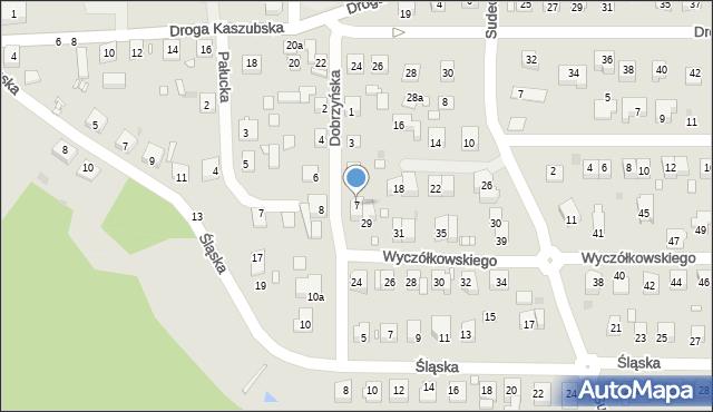 Grudziądz, Dobrzyńska, 7, mapa Grudziądza
