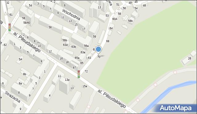 Lublin, Dolna Panny Marii, 70, mapa Lublina