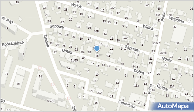 Radom, Dobra, 16, mapa Radomia