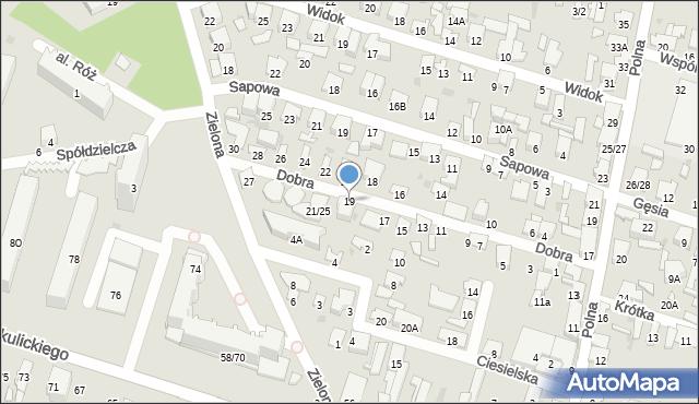 Radom, Dobra, 19, mapa Radomia