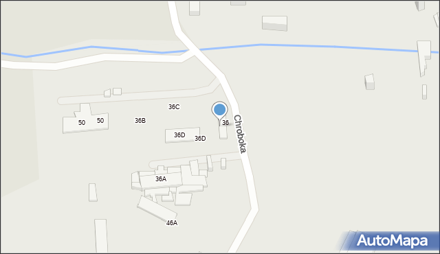 Ruda Śląska, Dolna, 36, mapa Rudy Śląskiej