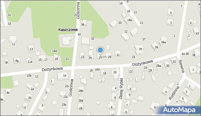 Toruń, Dożynkowa, 27, mapa Torunia