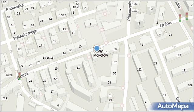 Warszawa, Dolna, 7, mapa Warszawy