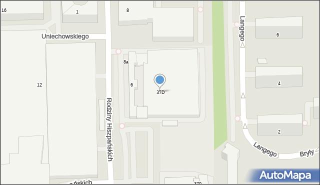 Warszawa, Domaniewska, 37p, mapa Warszawy