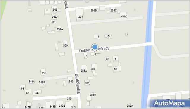 Warszawa, Dobka z Oleśnicy, 4, mapa Warszawy
