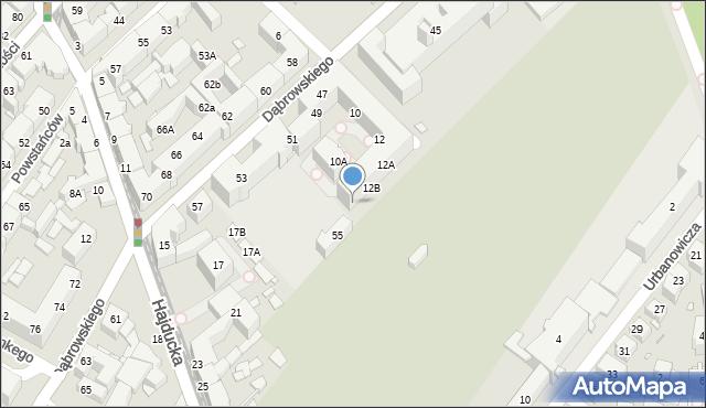 Chorzów, Drzymały Michała, 12C, mapa Chorzów