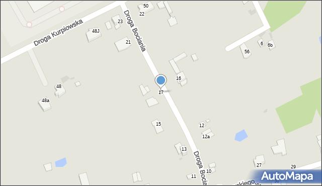 Grudziądz, Droga Bociania, 17, mapa Grudziądza