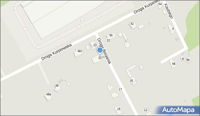 Grudziądz, Droga Bociania, 21, mapa Grudziądza