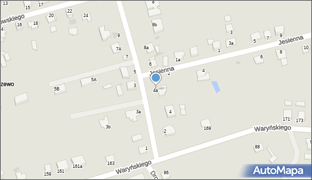 Grudziądz, Droga Bociania, 4a, mapa Grudziądza