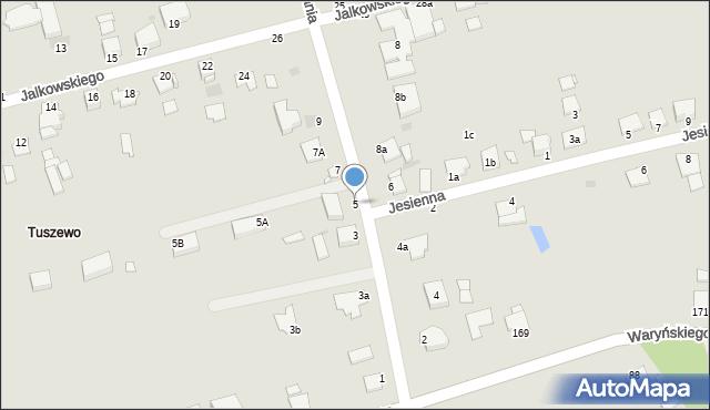 Grudziądz, Droga Bociania, 5, mapa Grudziądza