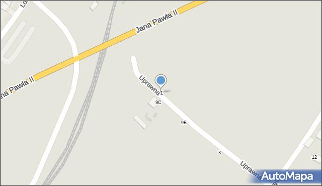 Grudziądz, Droga Kręta, 11, mapa Grudziądza