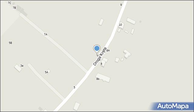 Grudziądz, Droga Kręta, 7, mapa Grudziądza