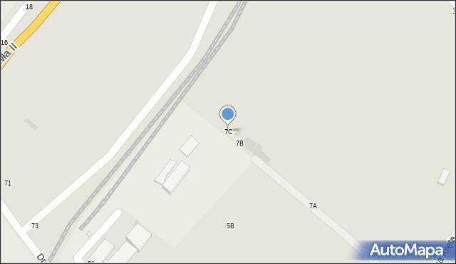 Grudziądz, Droga Kręta, 7C, mapa Grudziądza