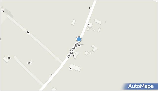 Grudziądz, Droga Kręta, 8A, mapa Grudziądza
