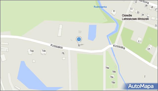 Grudziądz, Droga Kujawska, 31, mapa Grudziądza