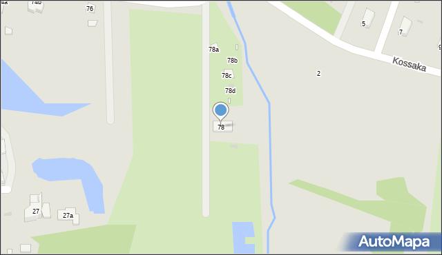 Grudziądz, Droga Kujawska, 78, mapa Grudziądza