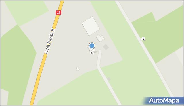 Grudziądz, Droga Kurpiowska, 33, mapa Grudziądza