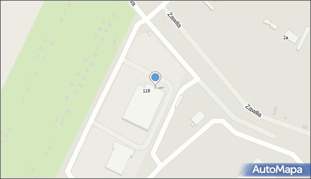 Grudziądz, Droga Łąkowa, 118, mapa Grudziądza