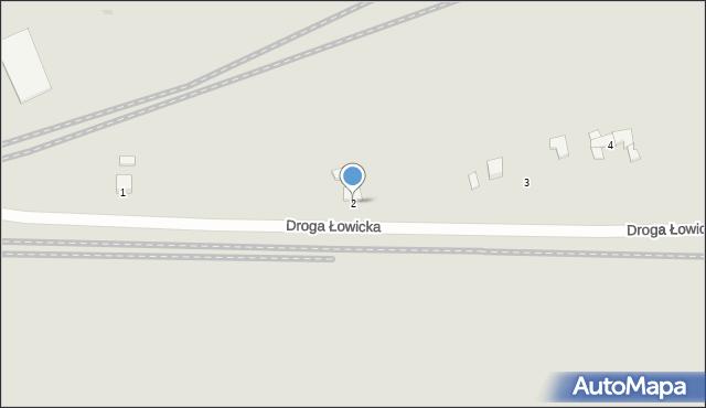 Grudziądz, Droga Łowicka, 2, mapa Grudziądza