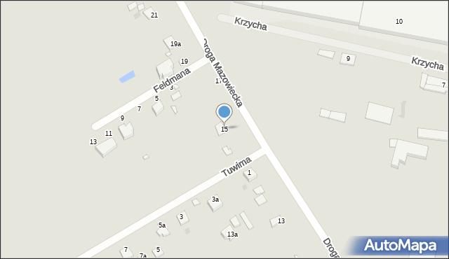 Grudziądz, Droga Mazowiecka, 15, mapa Grudziądza