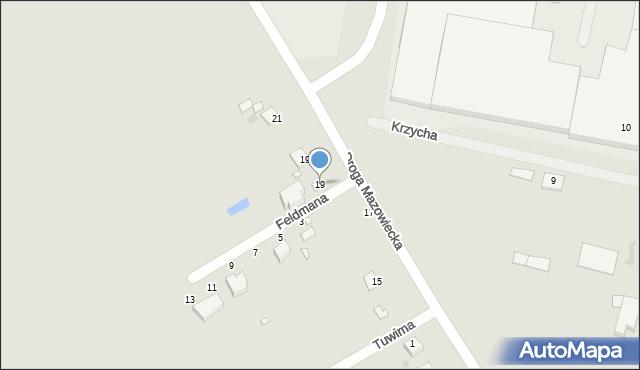 Grudziądz, Droga Mazowiecka, 19, mapa Grudziądza
