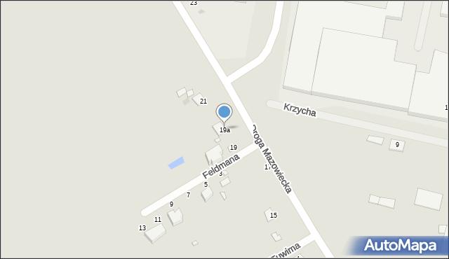 Grudziądz, Droga Mazowiecka, 19a, mapa Grudziądza