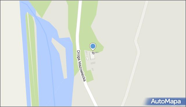 Grudziądz, Droga Mazowiecka, 70, mapa Grudziądza