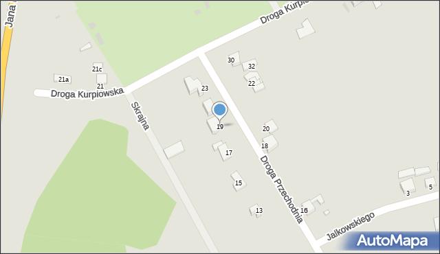 Grudziądz, Droga Przechodnia, 19, mapa Grudziądza