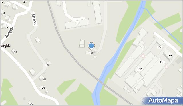 Limanowa, Drożdża Jana, 18, mapa Limanowa