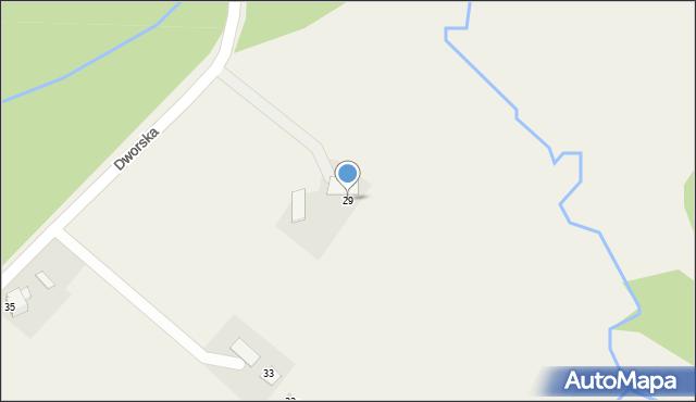 Frydrychowice, Dworska, 29, mapa Frydrychowice