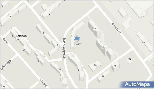 Grudziądz, Dywizjonu 303, 303, mapa Grudziądza