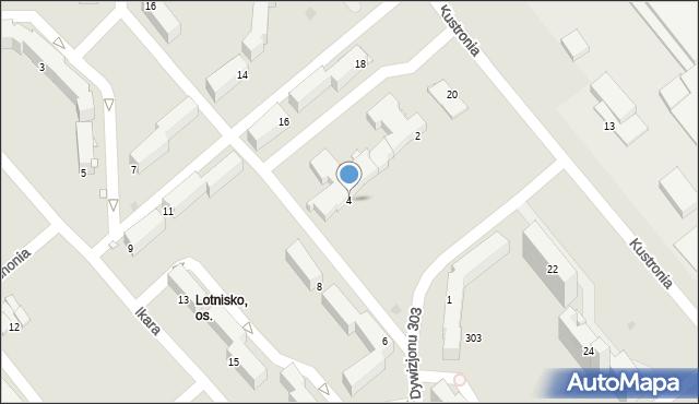 Grudziądz, Dywizjonu 303, 4, mapa Grudziądza