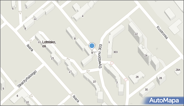 Grudziądz, Dywizjonu 303, 6, mapa Grudziądza