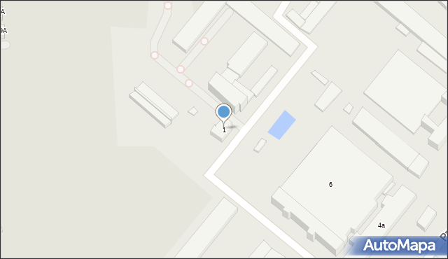 Rzeszów, Energetyczna, 1, mapa Rzeszów