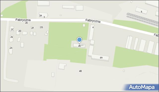 Chełm, Fabryczna, 4C, mapa Chełma