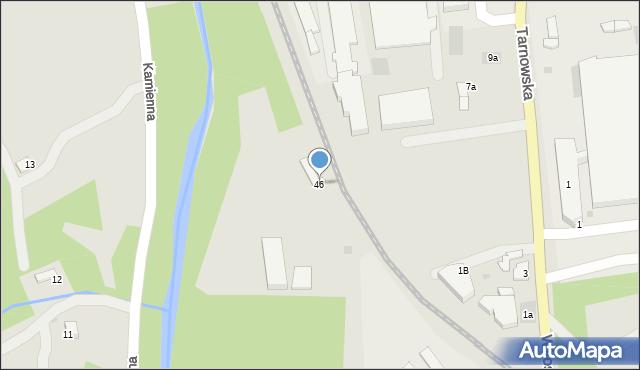 Limanowa, Fabryczna, 46, mapa Limanowa