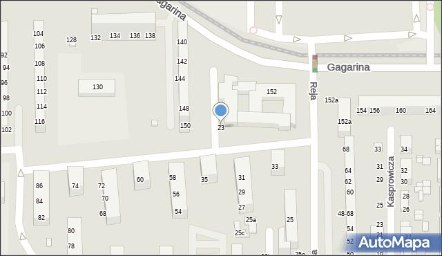 Toruń, Fałata Juliana, 23, mapa Torunia
