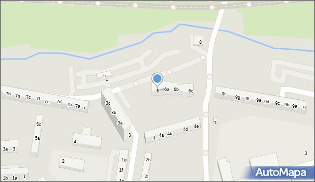 Toruń, Filomatów Pomorskich, 6, mapa Torunia
