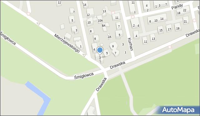 Warszawa, Filipinki, 2, mapa Warszawy