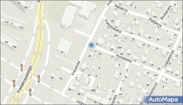 Gdynia, Frezerów, 2c, mapa Gdyni